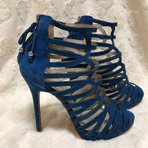 Reiss suede heels